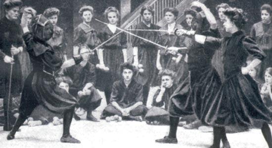 История женской дуэли