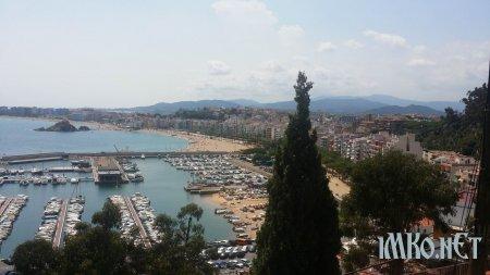 Бланес ИСПАНИЯ Blanes Каталония  ( Сам Фоткал )