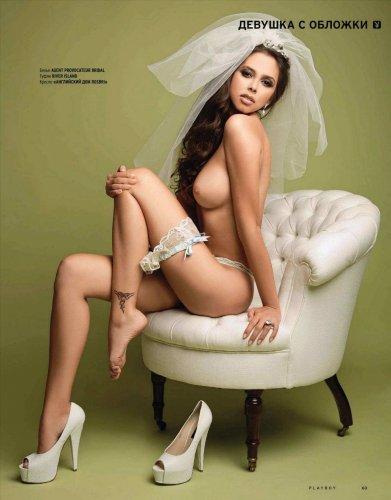Анастасия Новодран в журнале Playboy