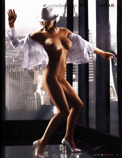 Евгения Диордийчук в журнале Playboy