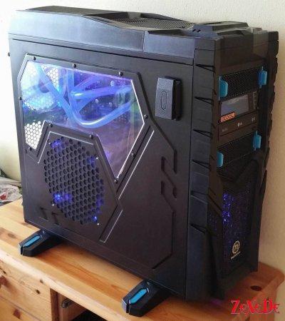 GAMER Phenom II X6 MODDING PC mit Wasserkühlung, 16 GB DDR3, GTX 580, USB3