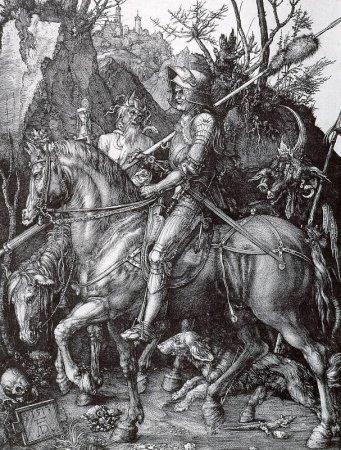 Рыцарь, смерть и дьявол - Альбрехт Дюрер