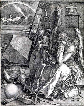 Меланхолия (гравюра Альбрехта Дюрера)