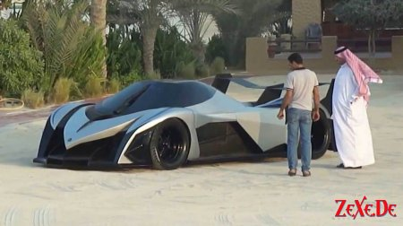 Devel Sixteen Hypercar 560km/h 5000hp V16