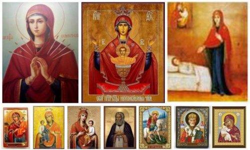 Значение разных икон