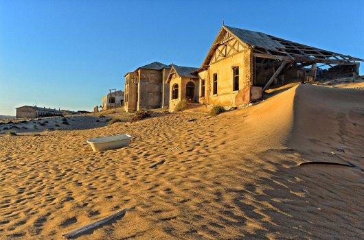 Город-призрак на юге Намибии