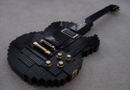 Фото подборка самых необычных гитар