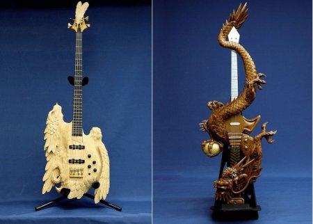 Ещё подборка самых странных и необычных гитар.