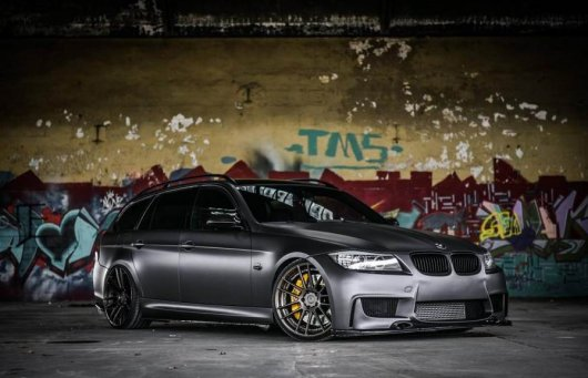 813PS BMW 335i E91 от JB4 Tuning Benelux