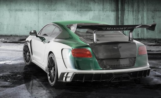MANSORY GT Race Bentley Continental 1001 PS