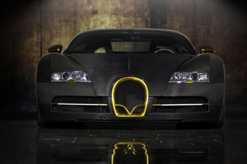 Bugatti Veyron Linea Vincero d'Oro от Mansory