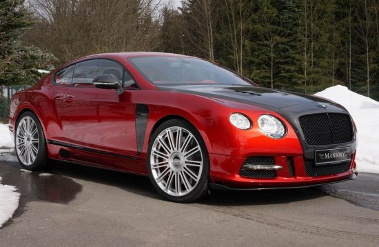 Bentley Mansory Sanguis Continental GT