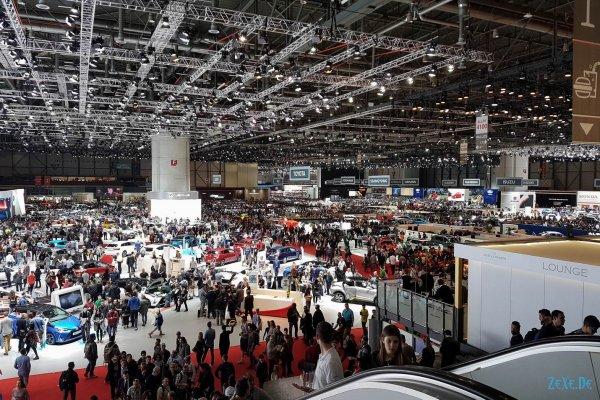 Geneva Motor Show 2017 Сам Фоткал