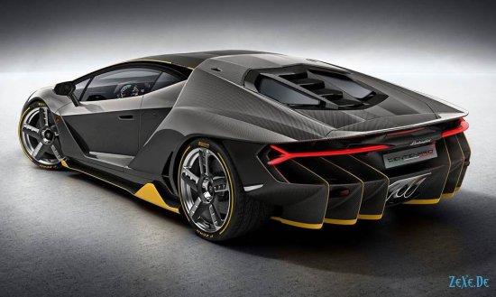 Lamborghini Centenario, $2.500.000