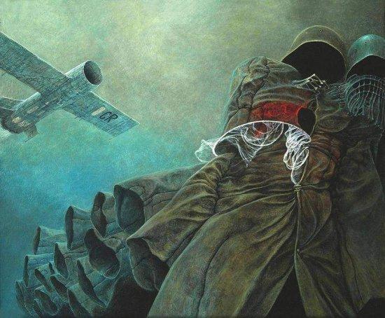 История Польского Художника, Который Рисовал Ночные Кошмары