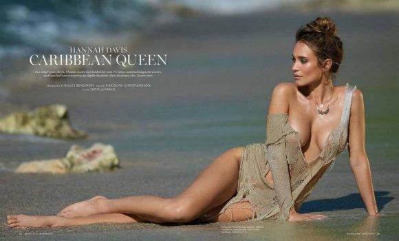 Ханна Дэвис (Hannah Davis) в журнале Maxim