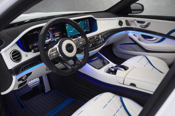 Mercedes S-63 AMG Mansory Signature Edition