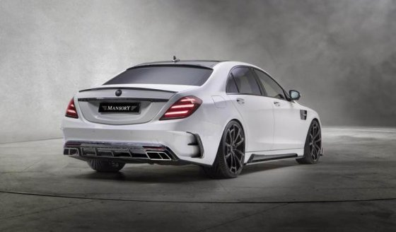 Mercedes S-63 AMG Mansory Signature Edition