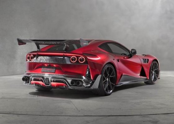 Mansory Stallone based on Ferrari 812