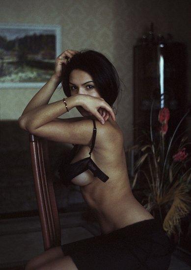 Эротические фото полуобнаженных красавиц
