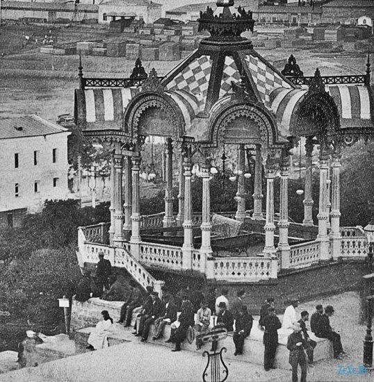 Одесса.1902 год. Приморский бульвар