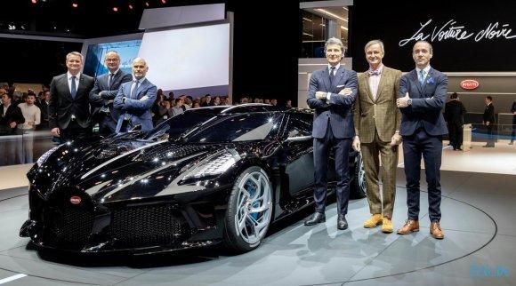 """Bugatti """"La Voiture Noire"""" 😍  за 16,5 Millionen Euro!"""
