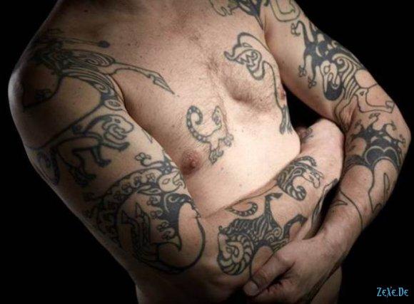 Скифские татуировки